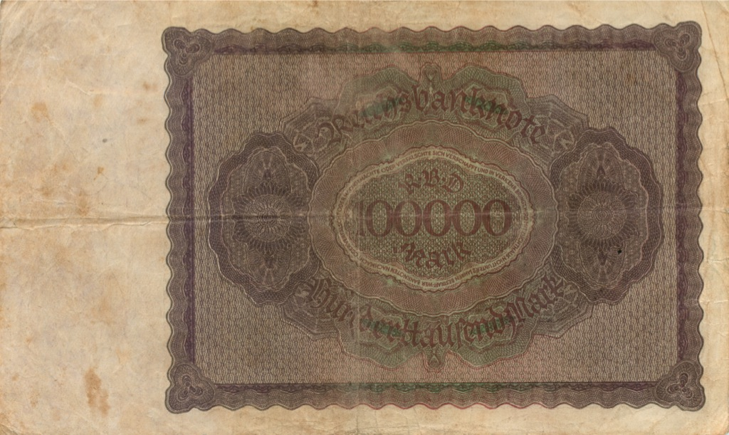 100 тысяч марок 1923 года (Германия)