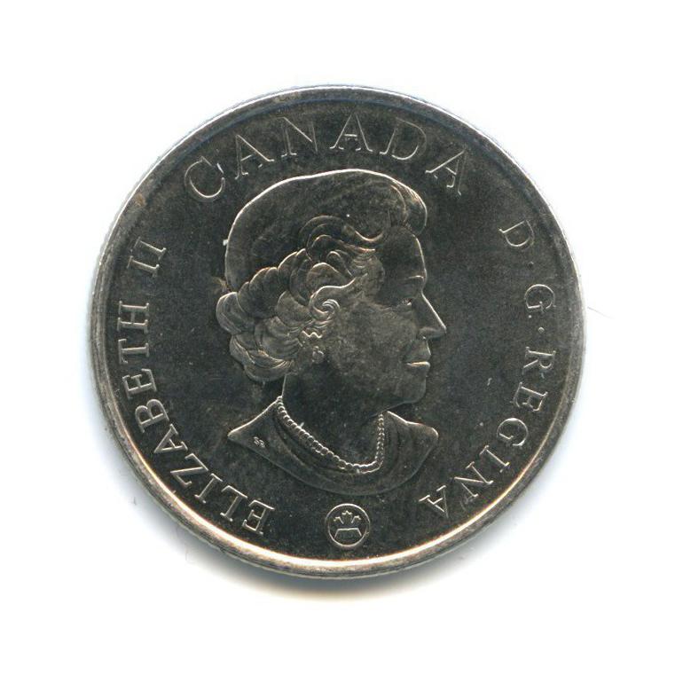 25 центов (квотер) — 90 лет содня окончания Первой мировой войны 2008 года (Канада)