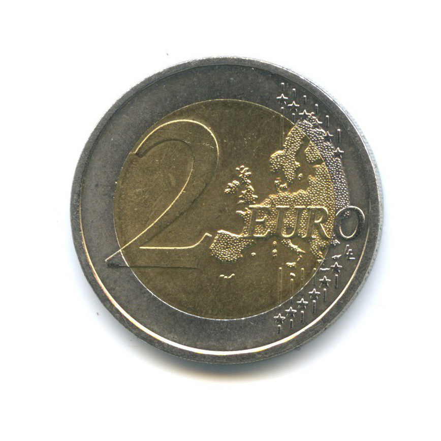 2 евро — 10 лет евро наличными 2012 года (Австрия)