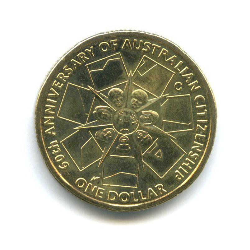 1 доллар — 60 лет Австралийскому гражданству 2009 года (Австралия)