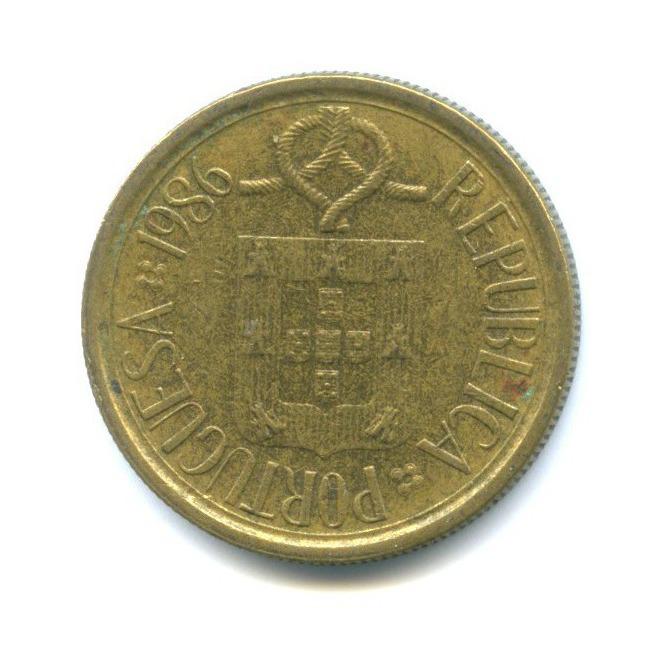 5 эскудо 1986 года (Португалия)