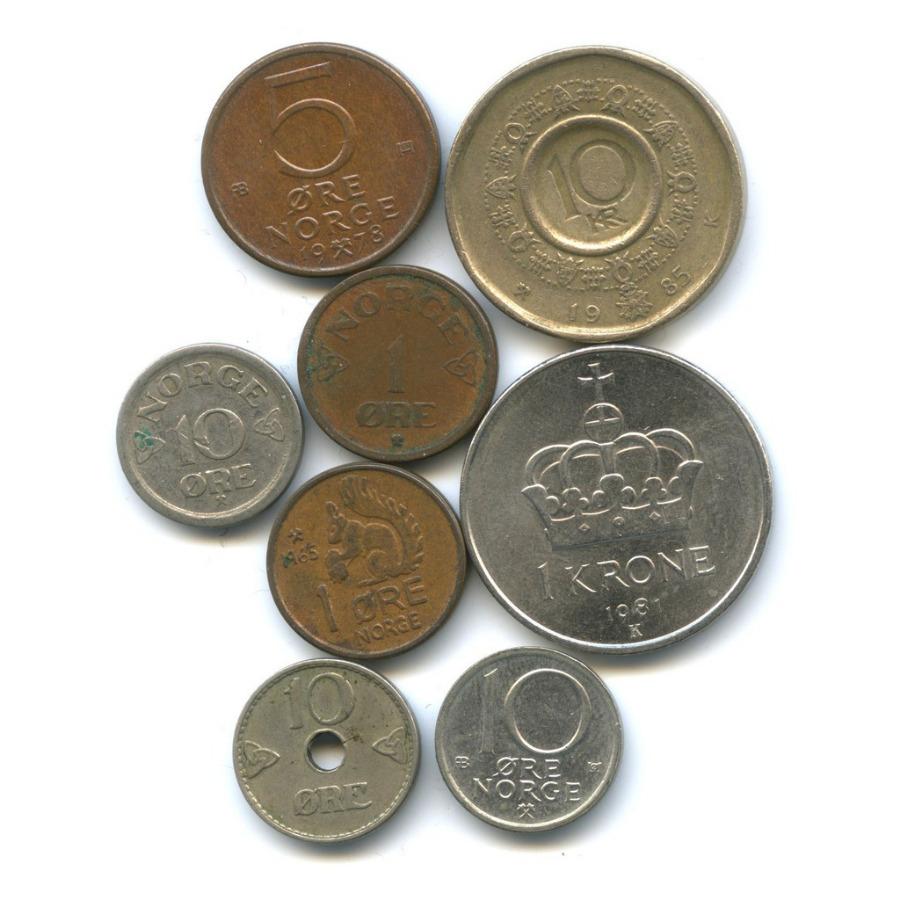 Набор монет (Норвегия)