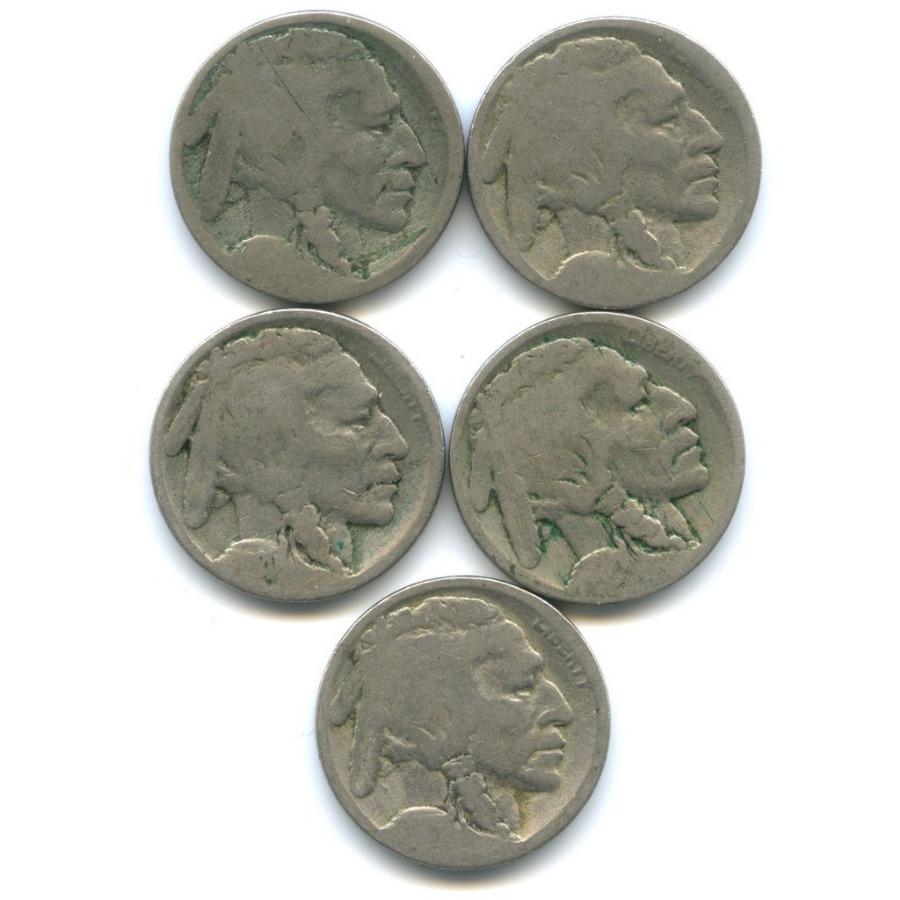 Набор монет 5 центов (США)
