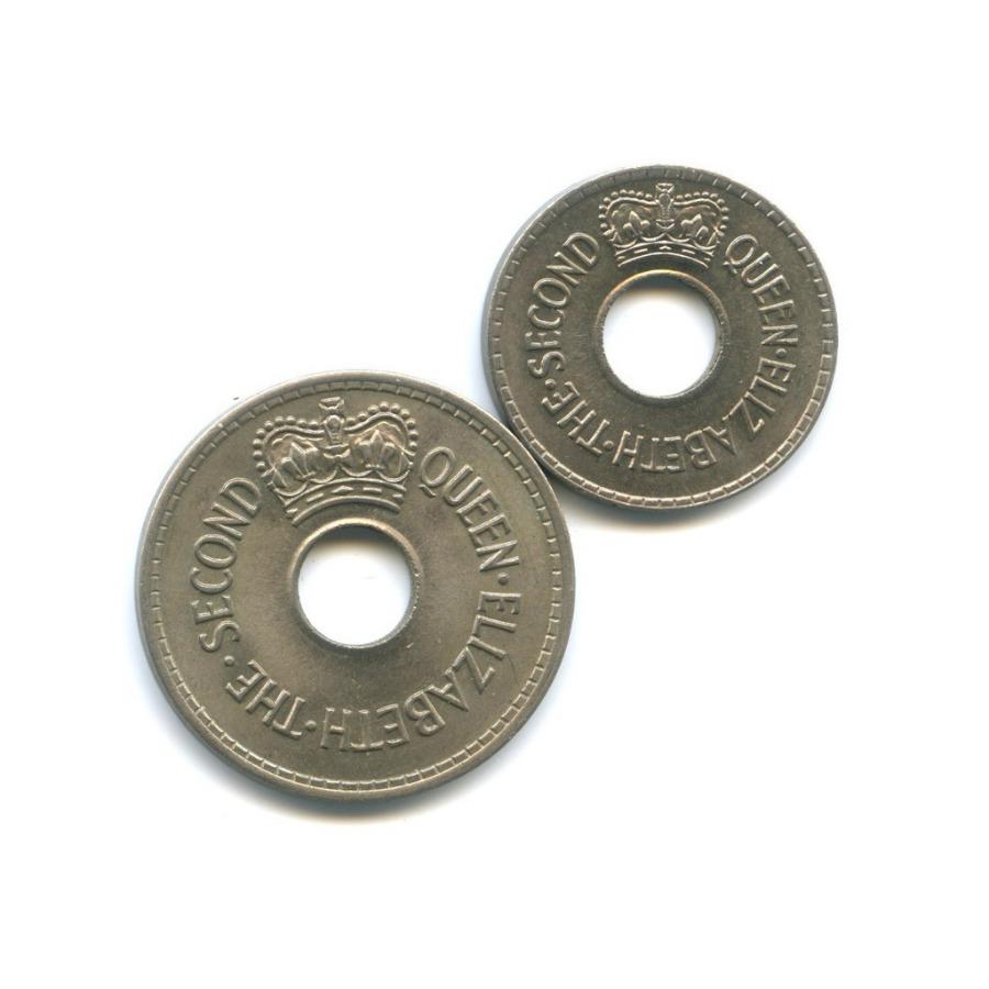Набор монет 1954,1968 (Фиджи)