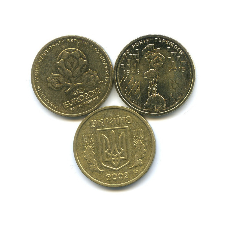 Набор монет 1 гривна (Украина)