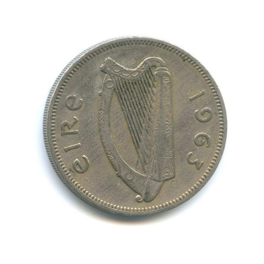 2 шиллинга (флорин) 1963 года (Ирландия)