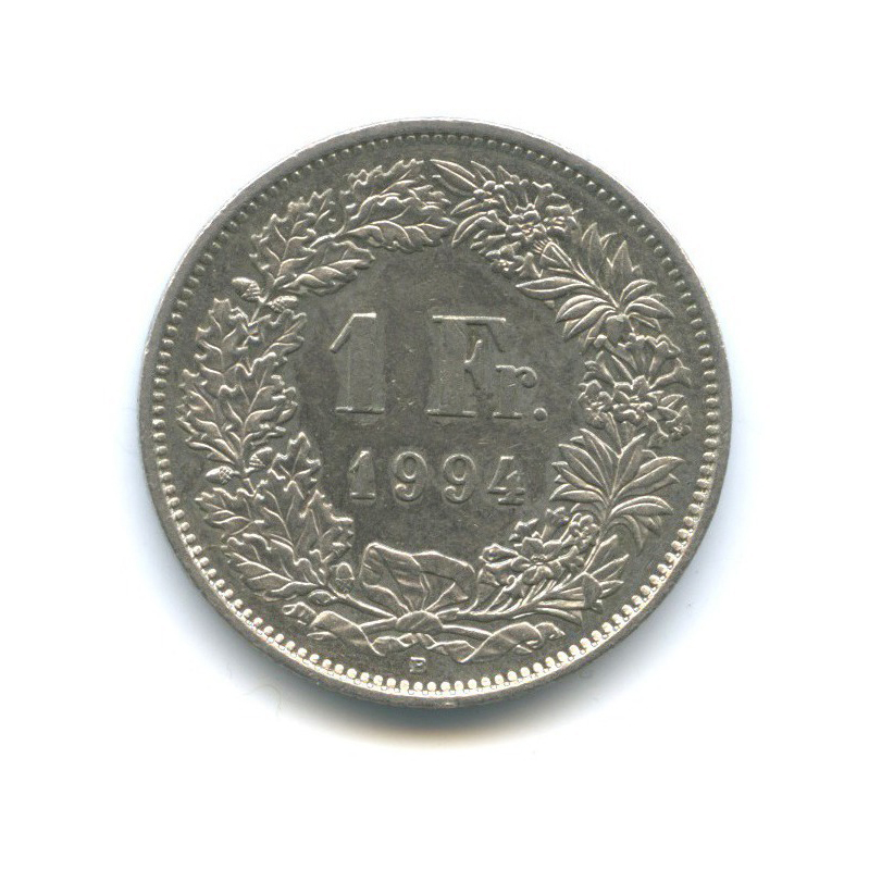 1 франк 1994 года (Швейцария)