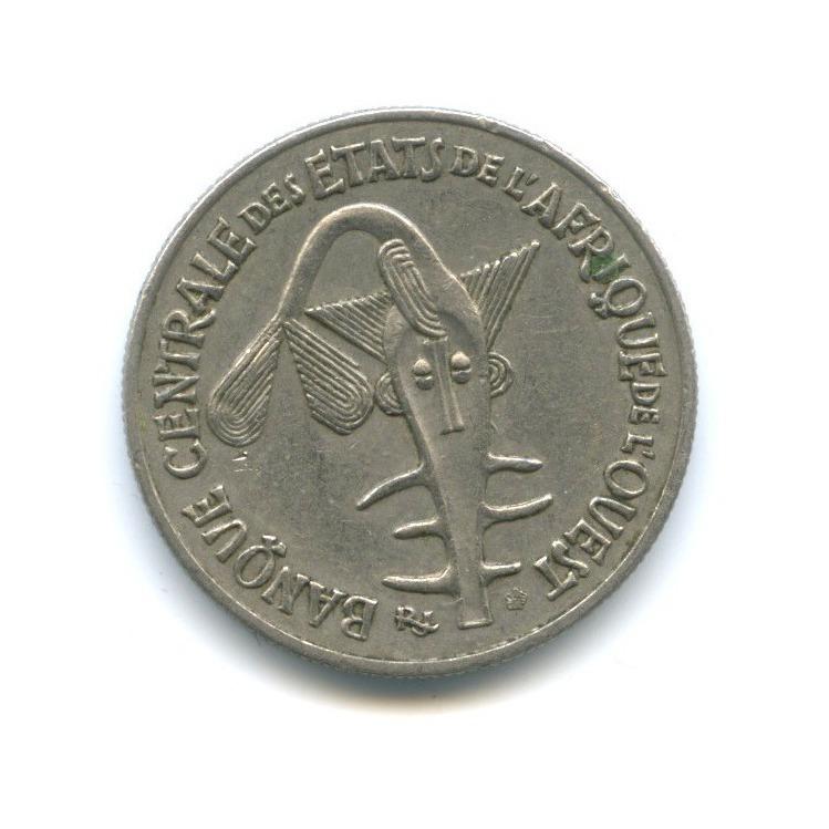 50 франков, Западная Африка 1972 года
