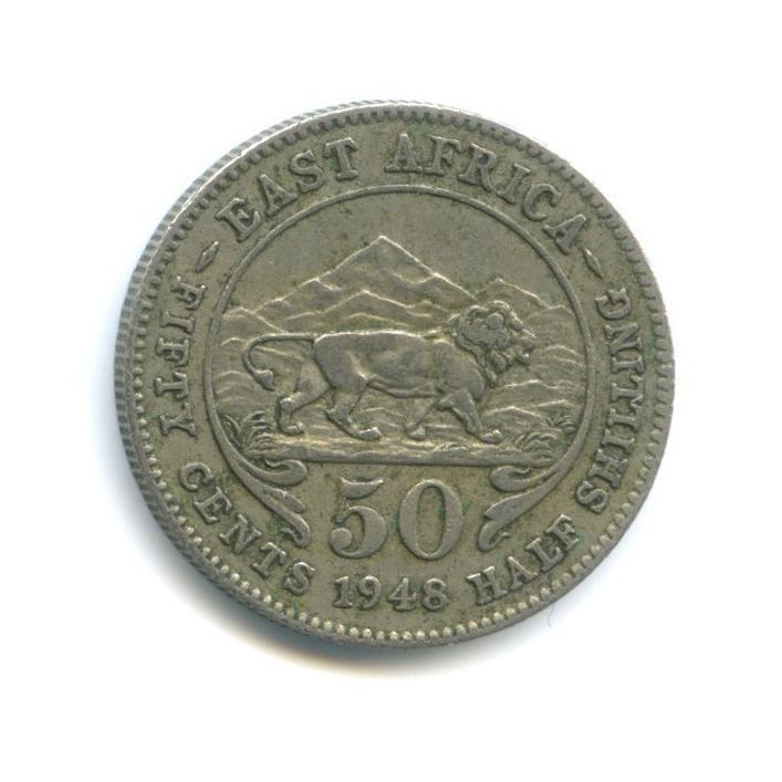 50 центов, Восточная Африка 1948 года