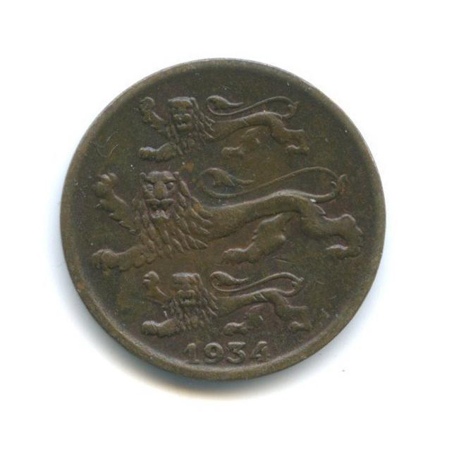 2 сента 1934 года (Эстония)