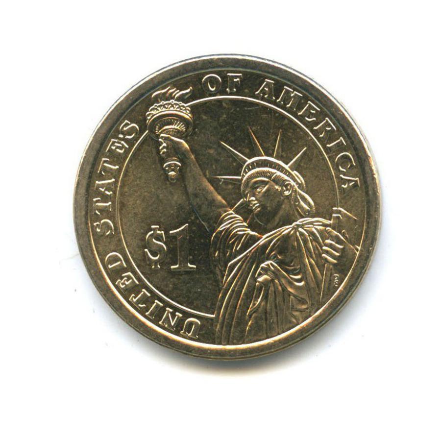 1 доллар — 24-ый Президент США - Гровер Кливленд (1893–1897) 2012 года D (США)