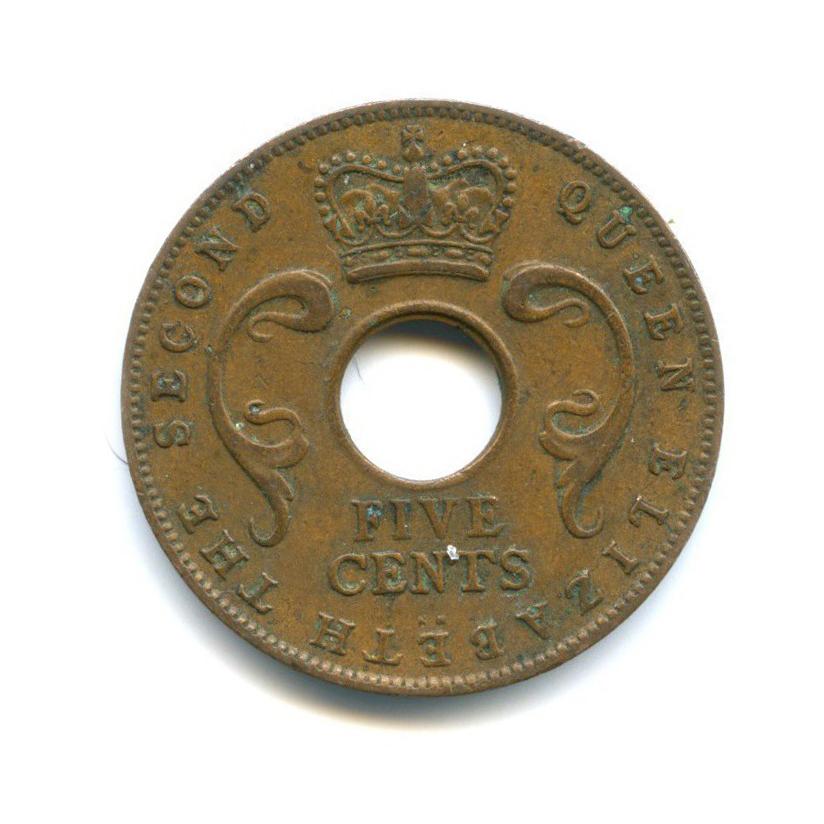 5 центов, Восточная Африка 1957 года