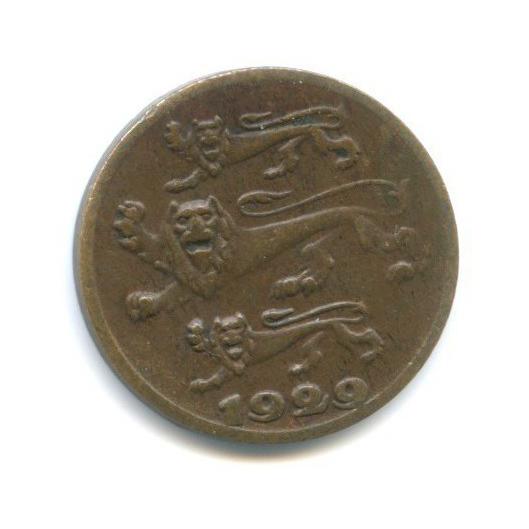1 сент 1929 года (Эстония)