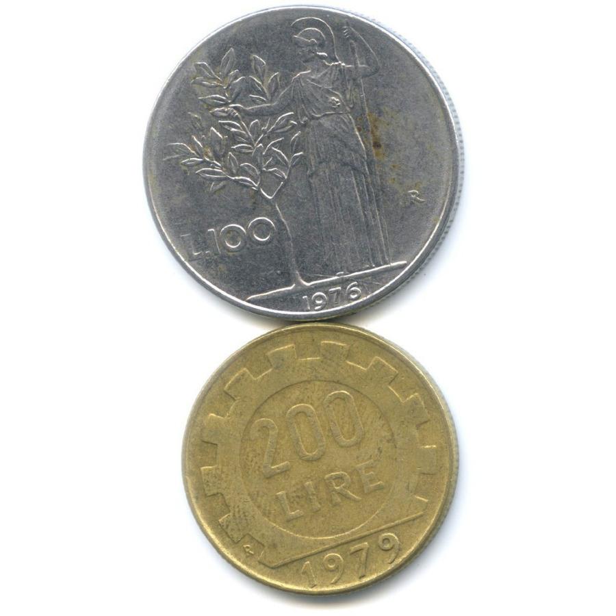 Набор монет 1976, 1979 (Италия)