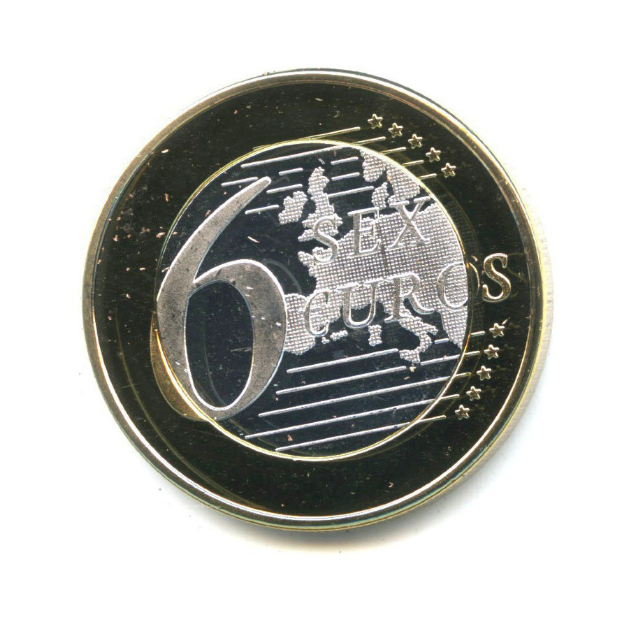 Жетон «Sex Euros - Поза 33»