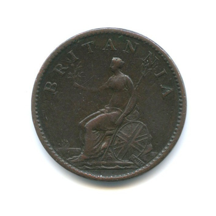 1 фартинг - Георг III 1806 года (Великобритания)