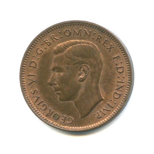 1 фартинг 1948 года (Великобритания)