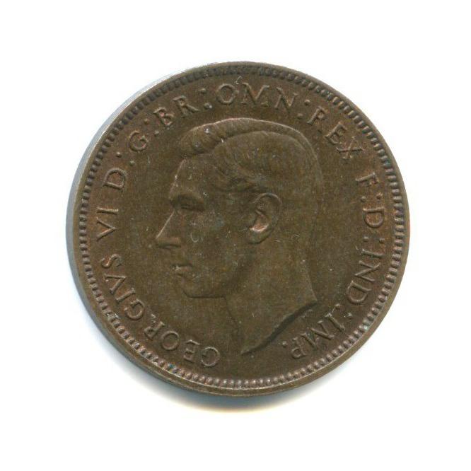 1 фартинг 1939 года (Великобритания)