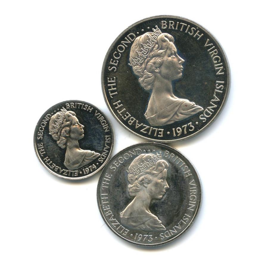 Набор монет, Виргинские острова 1973, 1974