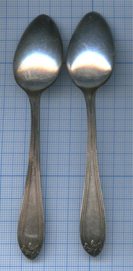 Набор кофейных ложек («Wellner», клейма, серебрение, до1917 г.)