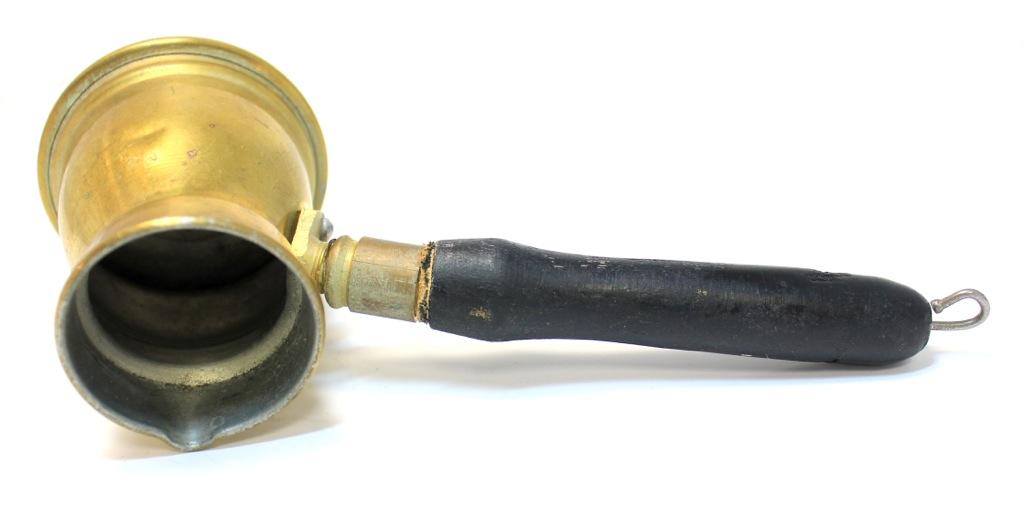 Турка (латунь, 7×16,5 см)