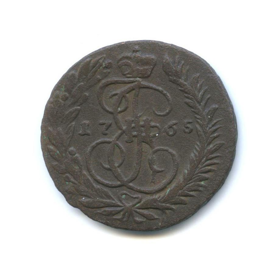 2 копейки (двойной удар) 1765 года ММ (Российская Империя)