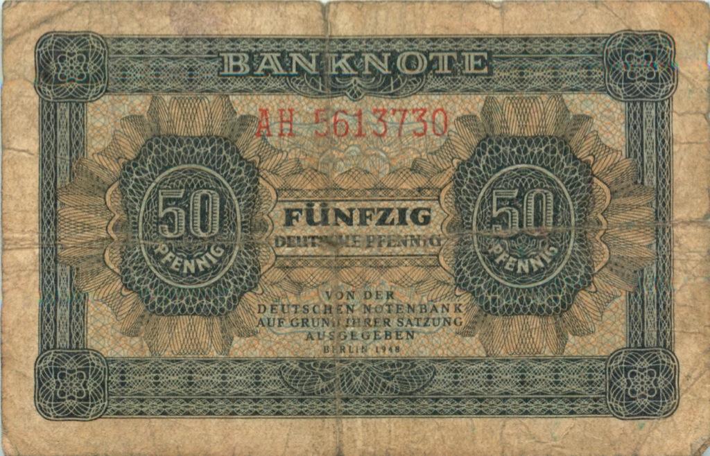 50 пфеннигов 1948 года (Германия)