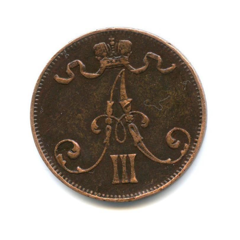 5 пенни 1889 года (Российская Империя)