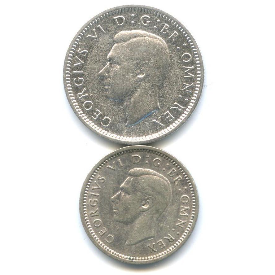 Набор монет 1941, 1943 (Великобритания)