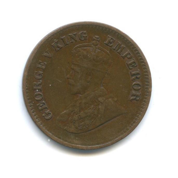 1/2 пайс, Британская Индия 1924 года