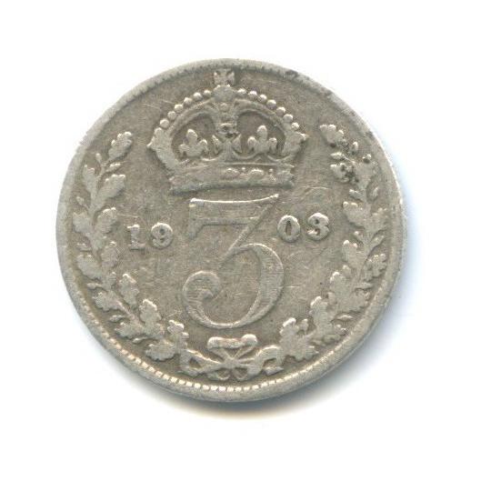 3 пенса 1903 года (Великобритания)