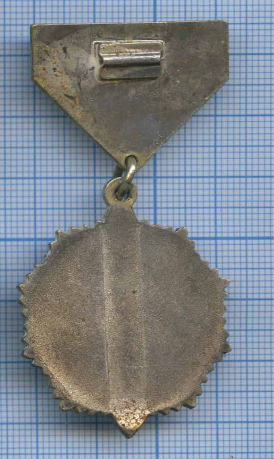 Знак нагрудный «Высшый командный состав УАХБ (КГБ) Монгольской Народной Республики» (оригинал, тяжелый металл, ММД) (СССР)