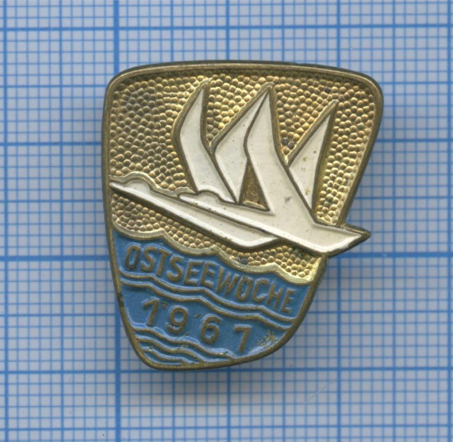 Знак «Ostseewoche» 1961 года (СССР)