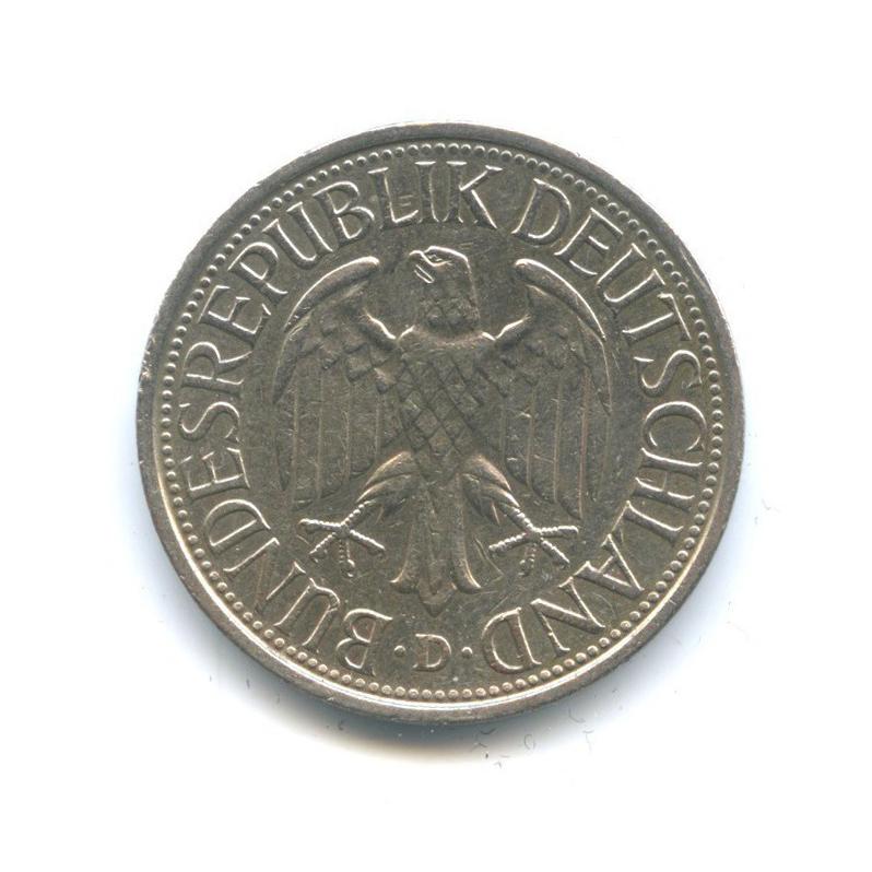 1 марка 1980 года D (Германия)