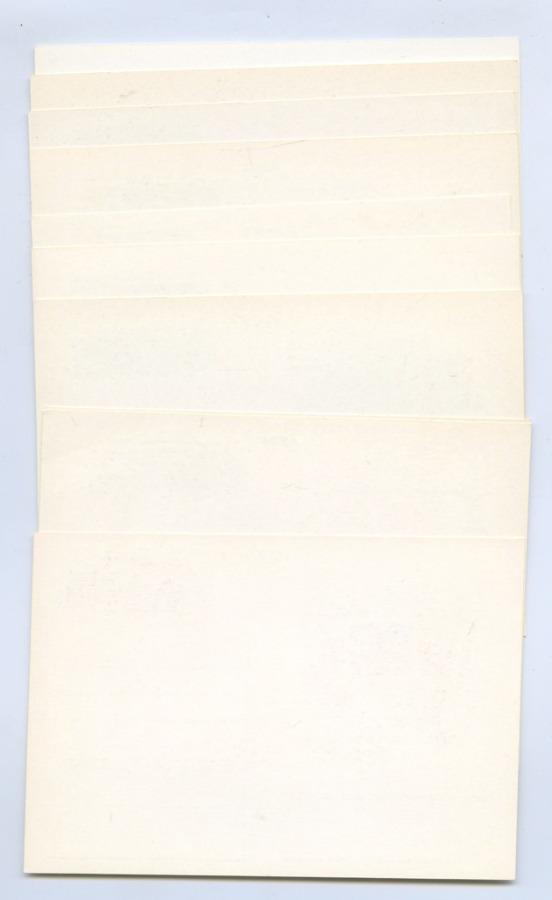 Набор почтовых открыток «Игры XXII Олимпиады, Москва-80» (10 шт.) (СССР)