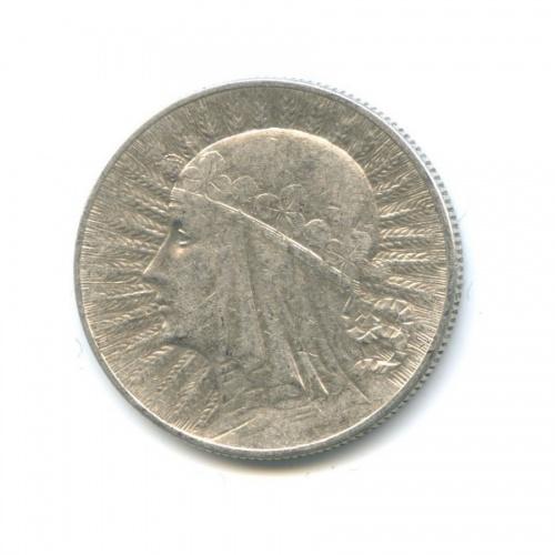 5 злотых - Королева Ядвига 1934 года (Польша)