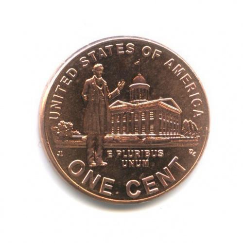 1 цент — 200 лет содня рождения Авраама Линкольна - Карьера вИллинойсе 2009 года (США)
