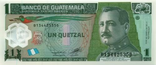 1 кетцаль 2012 года (Гватемала)
