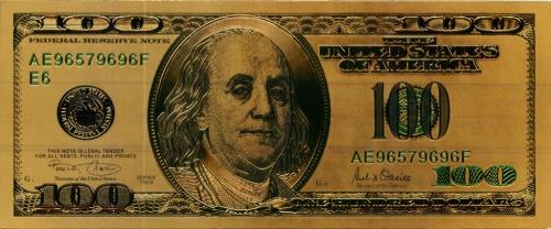 100 долларов (США, сувенирная банкнота)