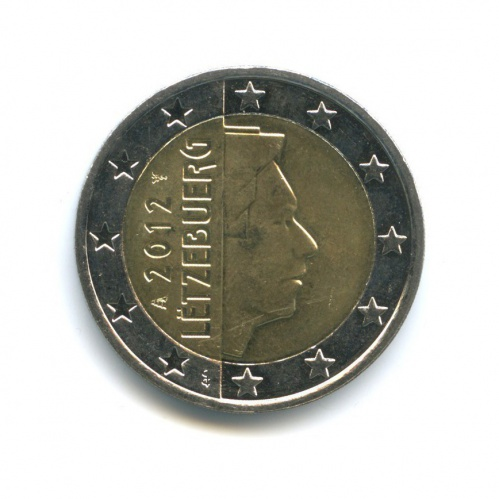 2 евро 2012 года (Люксембург)