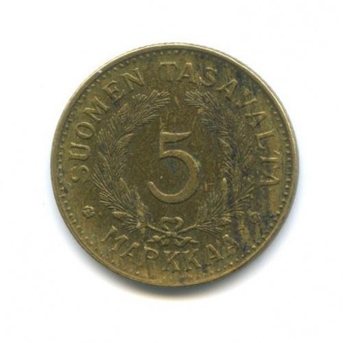 5 марок 1946 года (Финляндия)