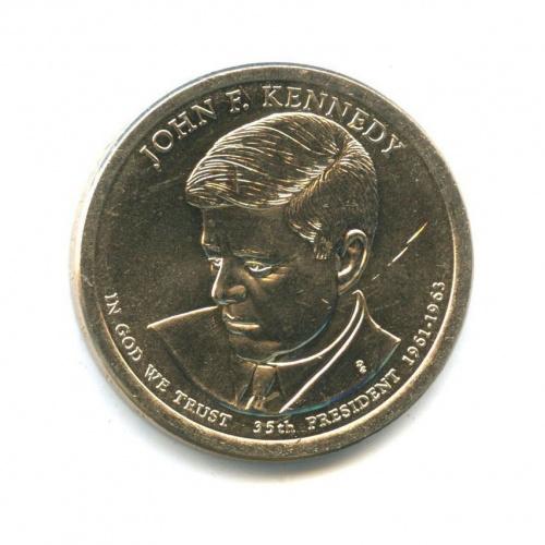 1 доллар — 35-ый Президент США - Джон Фицджеральд Кеннеди (1961–1963) 2015 года D (США)