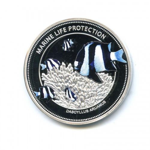 5 долларов - Защита морской жизни (Палау) 2015 года