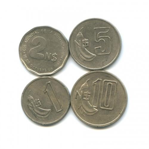 Набор монет 1980, 1981 (Уругвай)