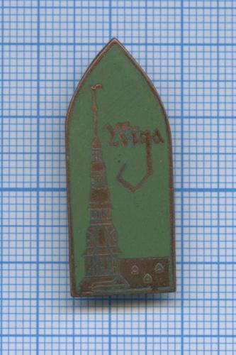 Значок «Riga» (Латвия)
