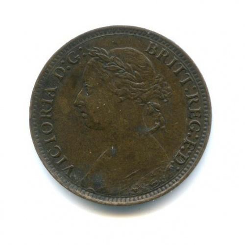 1 фартинг - Королева Виктория 1893 года (Великобритания)