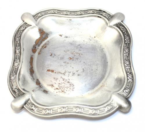 Лоток-визитница (серебрение, Европа, 13,5)