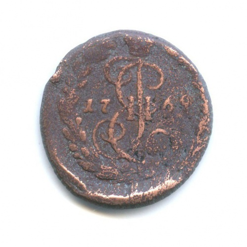 Денга (1/2 копейки) 1769 года ЕМ (Российская Империя)