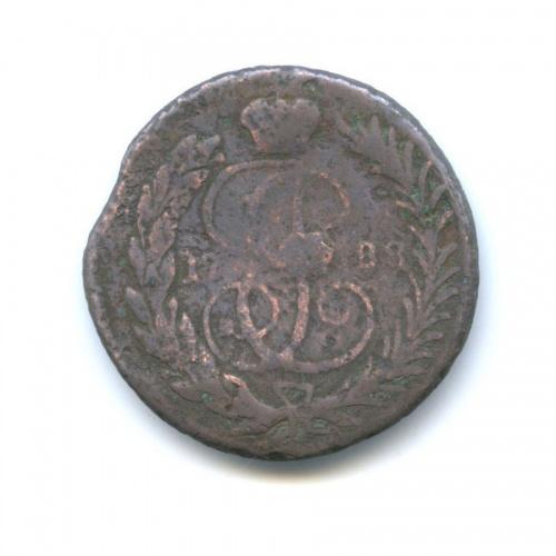 1 копейка (перечекан, барабаны) 1788 года (Российская Империя)