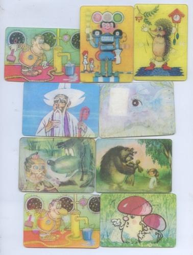 Набор календарей-переливашек (СССР)